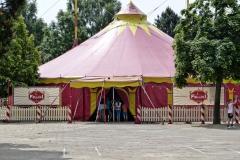 Unser Circus-Zelt